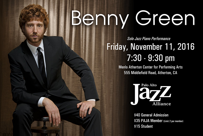 Benny Green Solo Piano Performance